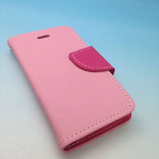iPhone 4 4S High Quality Luxury Leather Flip Wallet Case with Credit Card Slots