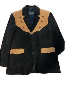 Scully Men's Leather Suede Western Blazer Jacket 42R