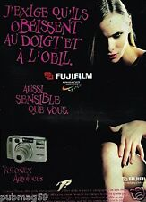 Publicité advertising 1997 Appareil photo Fotonex Autofocus Fujifilm