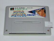 Super Famicom World Heroes (cartucho/cartridge)