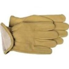 Boss Gloves 6133M Cotton Thermal Grain Cowhide Leather Driver, Medium