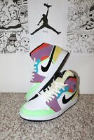 "Air Jordan 1 Mid ""Multi-color"" Wmns (Size 6 Men or size 7.5 Women)"