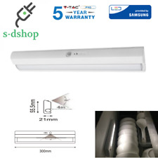 V-TAC SENSORE DI MOVIMENTO PIR neon luce a batteria per armadio cucina SKU 814
