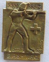 SSV- SSC/EFS-TFC Huguenin Le Locle Shooting Medal Bronze