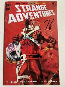 Strange Adventures Volume 4 #1 Gerards Housse Signé Par Tom King + COA