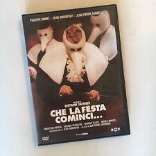 CHE LA FESTA COMINCI RARO DVD ITALIA BERTRAND TAVERNIER PHILIPPE NOIRET ROCHEFOR