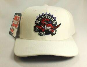 Toronto Raptors NBA White Throwback Vintage 90's PUMA Strapback Hat Cap PUMA NWT