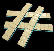 100 KLEBEGEWICHTE 12 x 5g    Auswuchtgewichte 6Kg Riegel Kleberiegel Abrißkante