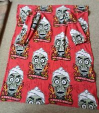 Jeff Dunham Achmed Fleece Snuggie Silence I Keel You Graphic Animated Blanket 2X