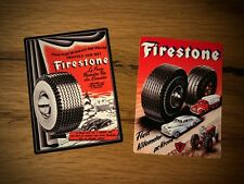 2x Firestone Autocollant pneus Oldtimer Hotrod Retro BERGRENNEN Rally Tuning #205