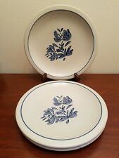 3pc Pfaltzgraff Yorktowne Dinner Plates Lightly Used Excellent Condition