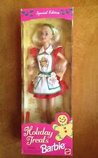 1997 Mattel Barbie Holiday Treats  Special Edition new In Box