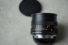 Leica Summicron R 50mm 2,0. Made in Germany.
