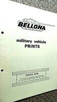 BELLONA MILITARY VEHICLE PRINTS #9: SERIES NINE (1966)