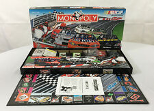 Monopoly Nascar Limited Edition Board Game! Complete! Racing Cars