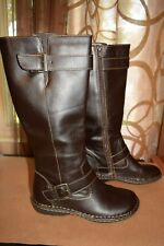 904cc71f46f0 Canyon River Blues Virginia Knee High Zip Up Boots Womens Sz 8M Dark Brown  GC!