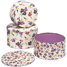 Emma Bridgewater Wallflower Set of 3 Cake Tins NEW
