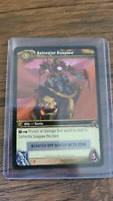 Riding Turtle Saltwater Snapjaw Unscratched Loot Card World of Warcraft TCG