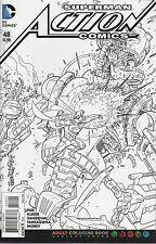 Action Comics No.48 / 2016 Adult Coloring Book Variant Cover