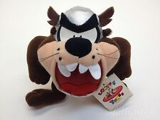 "Viking Taz Tazmanian Devil Plush Doll Thor Hat Ace Prize 90s 7"" Mini w/ Tag Rare"
