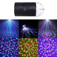 3W 12V Mini Projector RGB Stage Light Laser Lighting Lamp Bar Party DJ Disco KTV