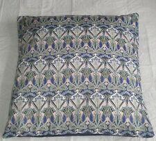 Liberty of London Fabric Cushion Covers  'Ianthe' Blue