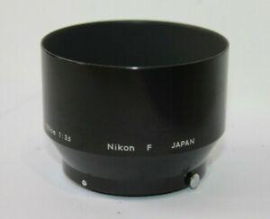 Nikon  HS-4 F Version Lens Hood  for 105mm F2.5 135mm f3.5 105mm f4 Lens.