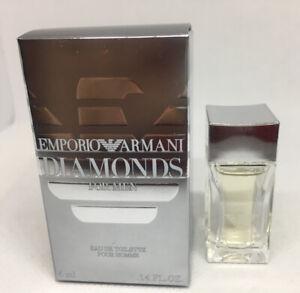 MINI COLOGNE - EMPORIO ARMANI DIAMONDS FOR MEN 4 ml / .14 oz  NEW SAMPLE SIZE