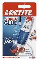 Loctite 2057737 Super Glue Perfect Pen -Blue Non Drip Universal Instant Adhesive