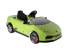 Licensed Lamborghini Huracan Kids Ride on Powered Car-Green