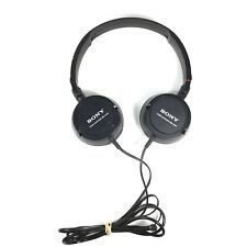 Sony Studio Monitor Sound and Style Stereo Cushion Headphones MDR-ZX100 On Ear