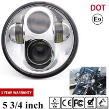 """5.75 5 3/4"""" LED Motorcycle Headlight Projector For Harley Sportster 1200 883 48"""