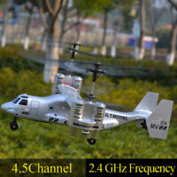 2.4Ghz 4.5CH RC Drone Aircraft Remote Control Plane Airplane Helicopter Toy la