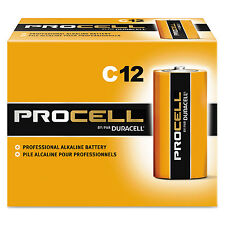 Duracell Procell Alkaline Batteries C 12/Box PC1400