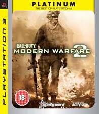 Call Of Duty Modern Warfare 2 Sony Playstation 3 Platinum