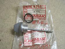 KAWASAKI NOS OIL FILLER PLUG & O RING KE125 KD125 KS125  16115-020 & 670B2020