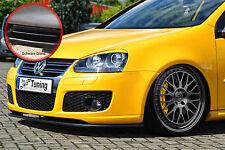 Spoilerschwert Frontspoiler Lippe VW GOLF 5 GTI GT Variant ABE schwarz glänzend