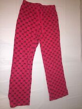 GIRLS OLD NAVY HELLO KITTY PAJAMA PANTS RED CAT SIZE XL/14