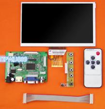 "For Raspberry HDMI VGA 2AV+Control Driver Board+7"" Inch TFT Monitor AT070TN92 @T"