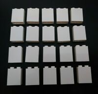 50 Lego lot 1x6 Brick White Friends Star Wars Creator Modular Architecture 3009