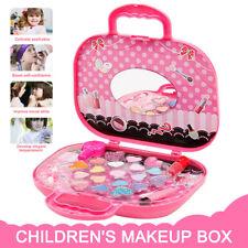 Sac à Jouet de Maquillage Enfants Jouer Jeu Cosmétiques Princesse Cadeau Filles