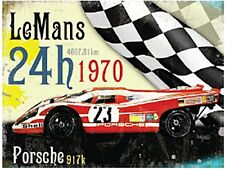 LeMans1970 Jaguar large steel sign  400mm x 300mm (og)