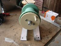 Wire Spooler and coiler - Manual and drill motor winding both spindles included