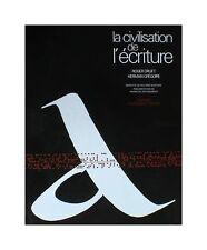 La civilisation de l'écriture - Roger Druet, Hermann Grégoire
