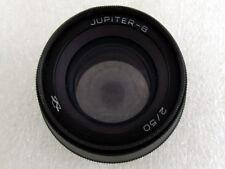 Jupiter-8 F2/50mm EXC!!! USSR RF Sonnar copy M39 Black Lens to Leica Nikon Sony