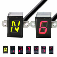 6 Speed Motorcycle Digital Display Led Moto Light Neutral Gear Indicator Display