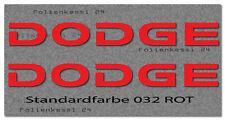 Dodge 2 Aufkleber 500mm Truck Tuning Styling Decal Sticker  -30 Farben- Dodge002