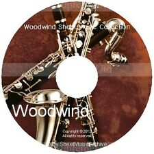 Massive Professional Woodwind Sheet Music Collection Archive Library on DVD