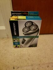 EMERSON Rechargeable Cordless Shaver with Pop-Up Trimmer Brand New