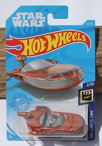 Hot wheels Star Wars Screen Time X-34 Landspeeder 2/10 Brown FNQHotwheels FJ24